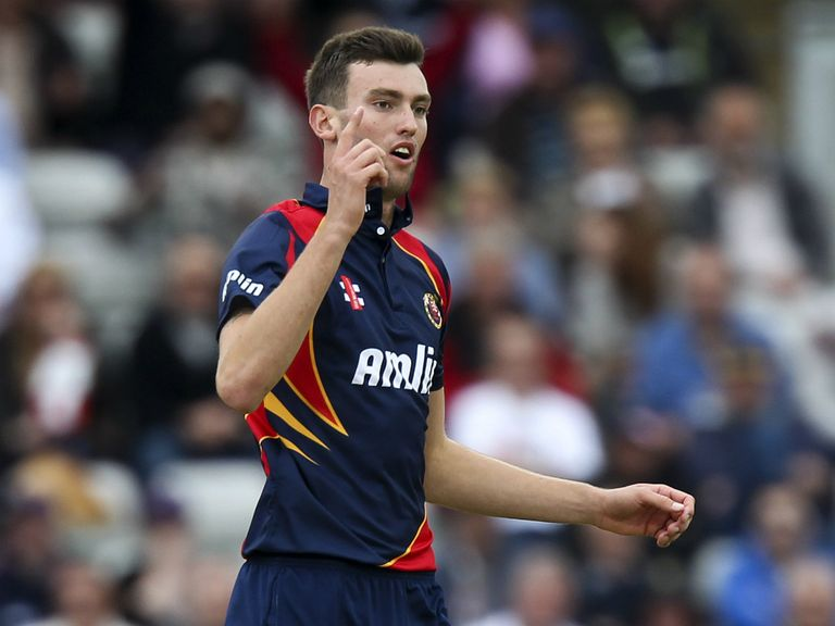 Reece Topley: Recovering from a back injury