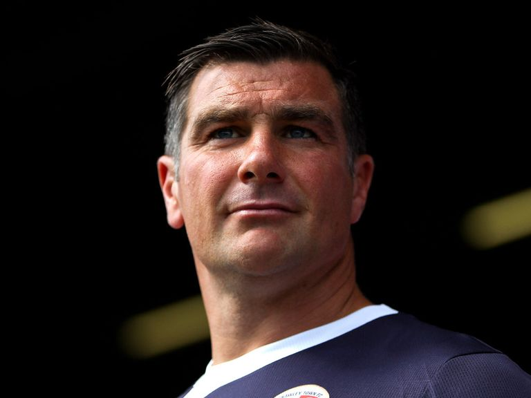 Richie Barker: Handed the reins at Portsmouth