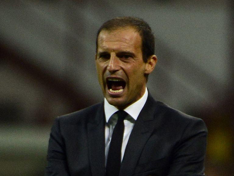 Massimiliano Allegri: Nearing the end at AC Milan