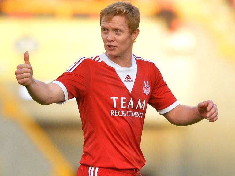 Barry Robson: Back in contention for Aberdeen