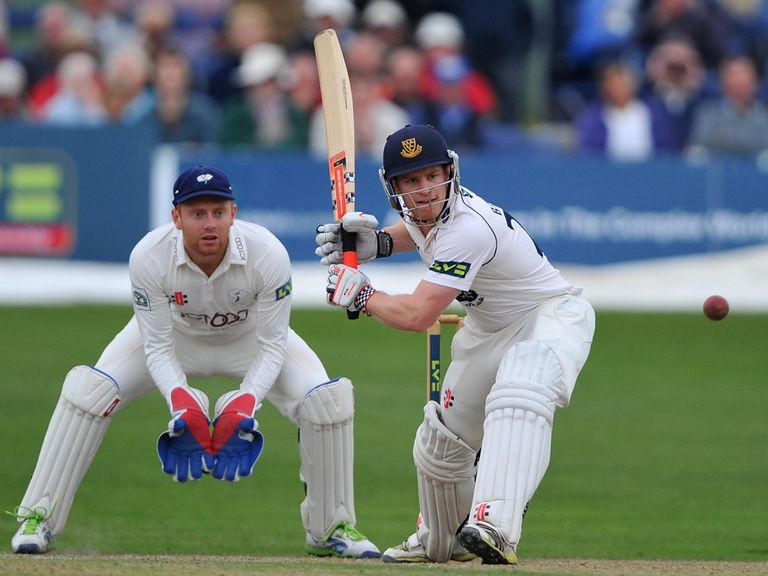 Ben Brown led a Sussex fightback at Hove