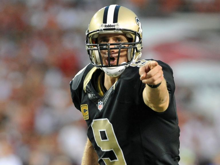 Drew Brees points the way.