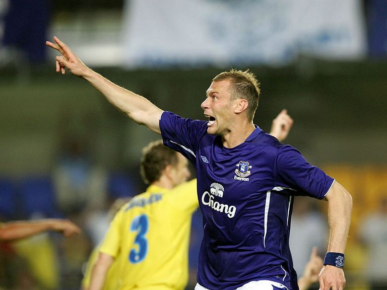 Duncan Ferguson: Everton hero during his playing career