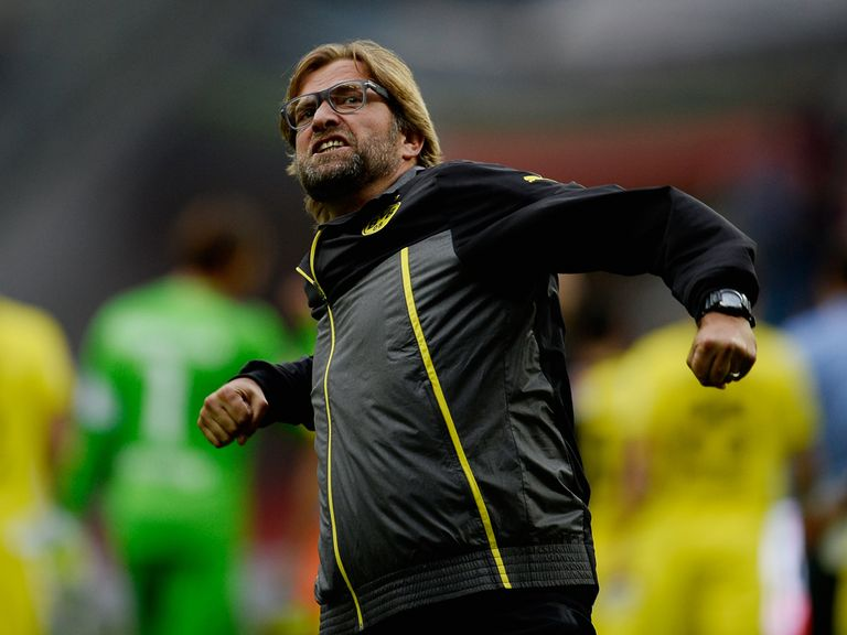 Jurgen Klopp saw his Dortmund side pick up three more points