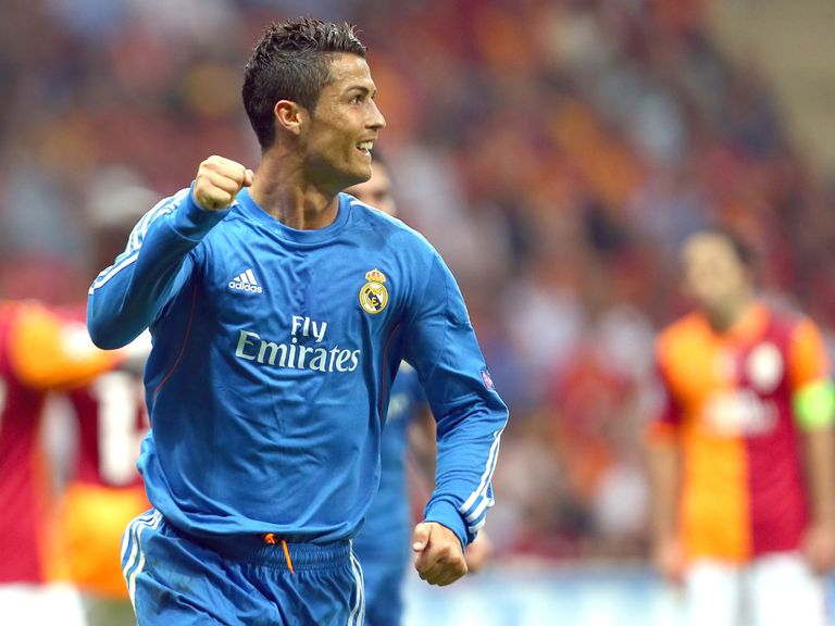 Cristiano Ronaldo helped Real to a ready win