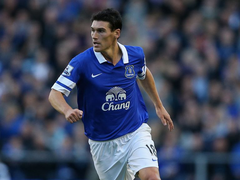 Gareth Barry: Hopes he can impress at Everton