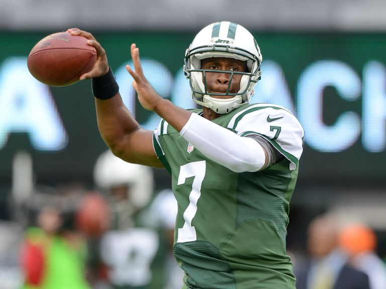 Geno Smith: Threw two touchdown passes for the Jets