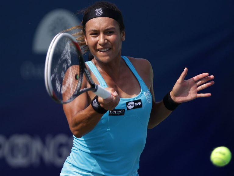 Heather Watson: Lost to Yanina Wickmayer