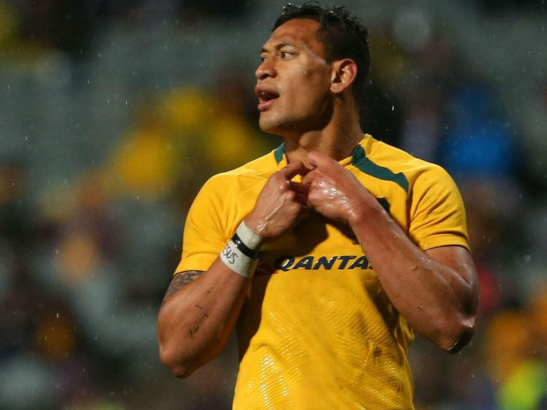 Israel Folau: Has performed well, even when Australia have struggled