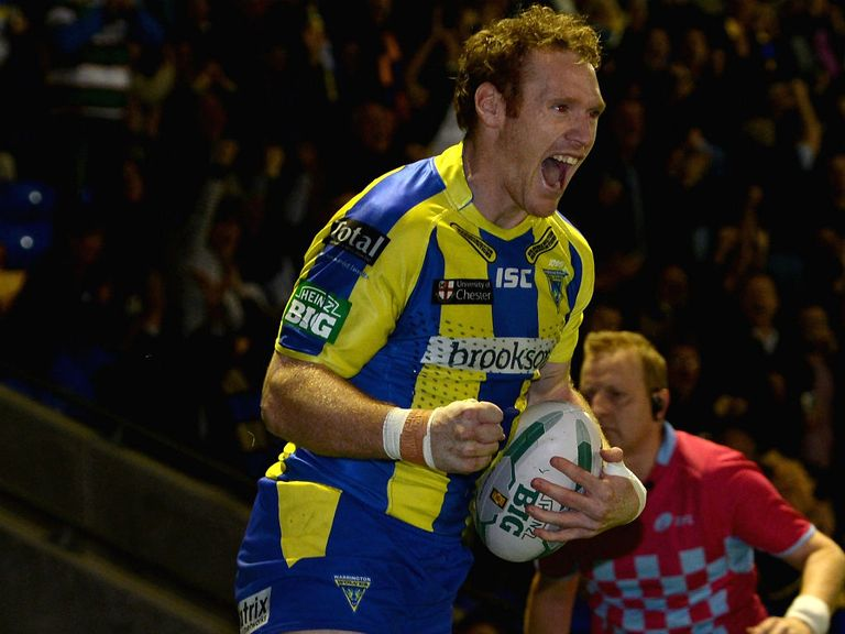 Joel Monaghan: Can star for Warrington