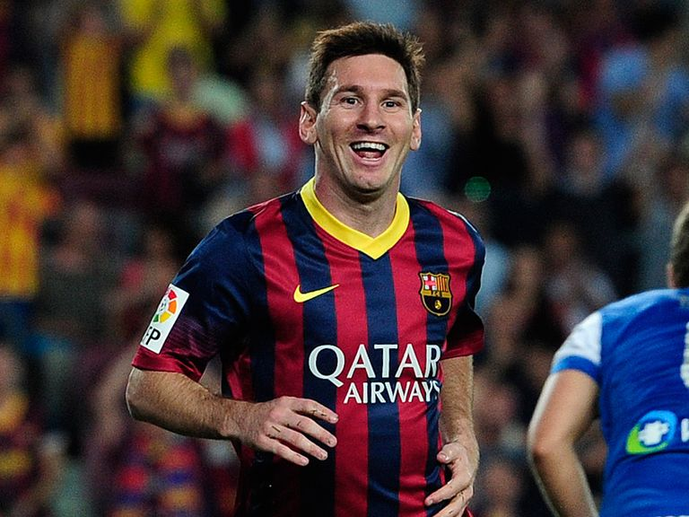 Messi: On the sidlines with an injury