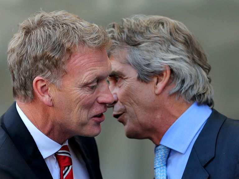 David Moyes was defeated by Manuel Pellegrini on Sunday.