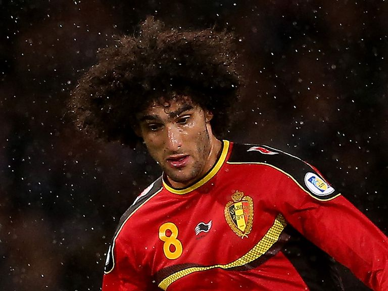 Fellaini: Confident he can land silverware with Manchester United