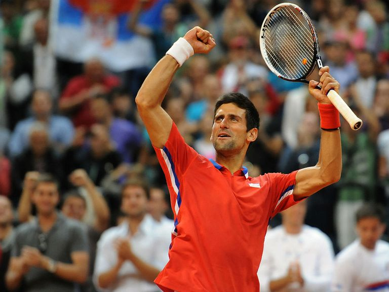 Novak Djokovic: Expected to lead Serbia in the Davis Cup final