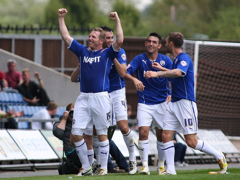 Ritchie Humphreys scored Chesterfield's winner at Oxford.
