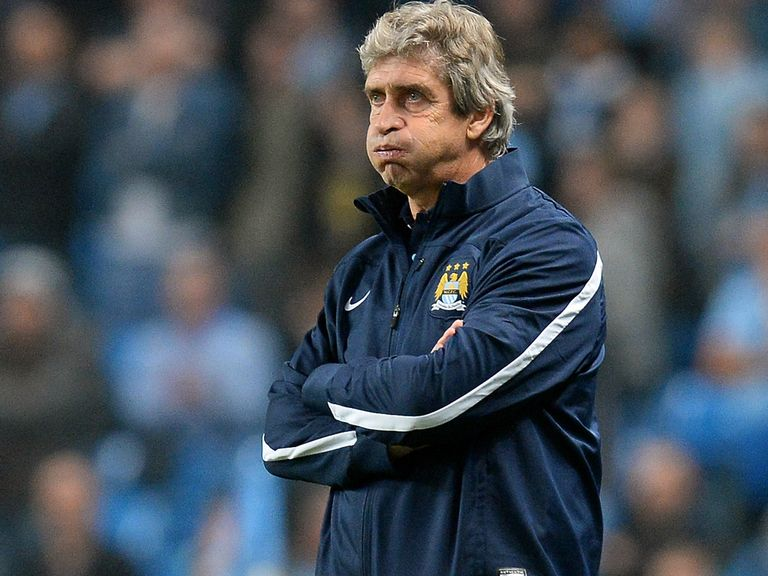 Manuel Pellegrini: Delighted with City spirit