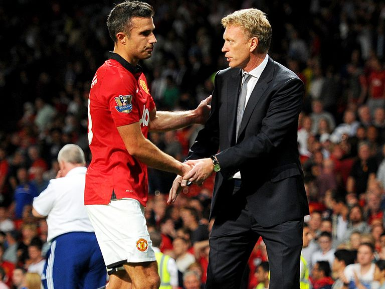 Moyes: No problem with van Persie
