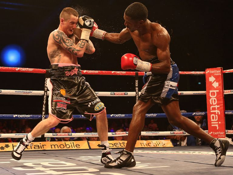 Ricky Burns (l) had to dig deep in his last outing against Jose Gonzalez