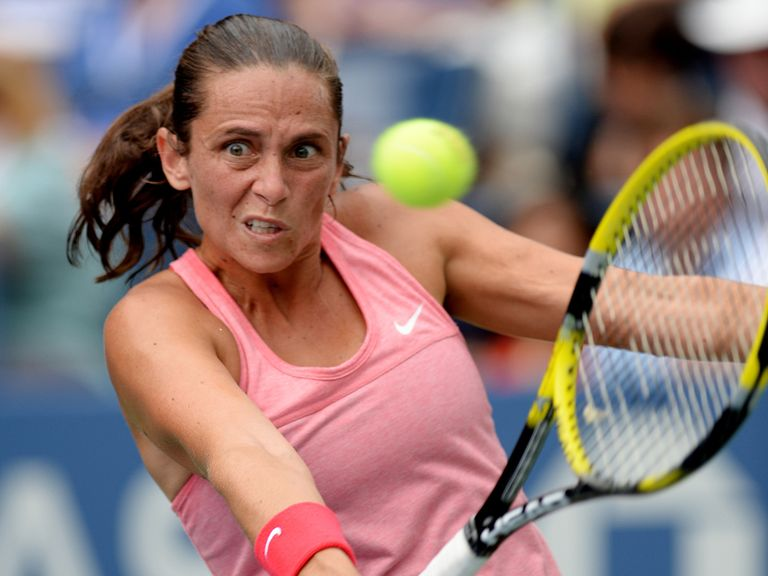 Roberta Vinci: Back in the last eight of the US Open