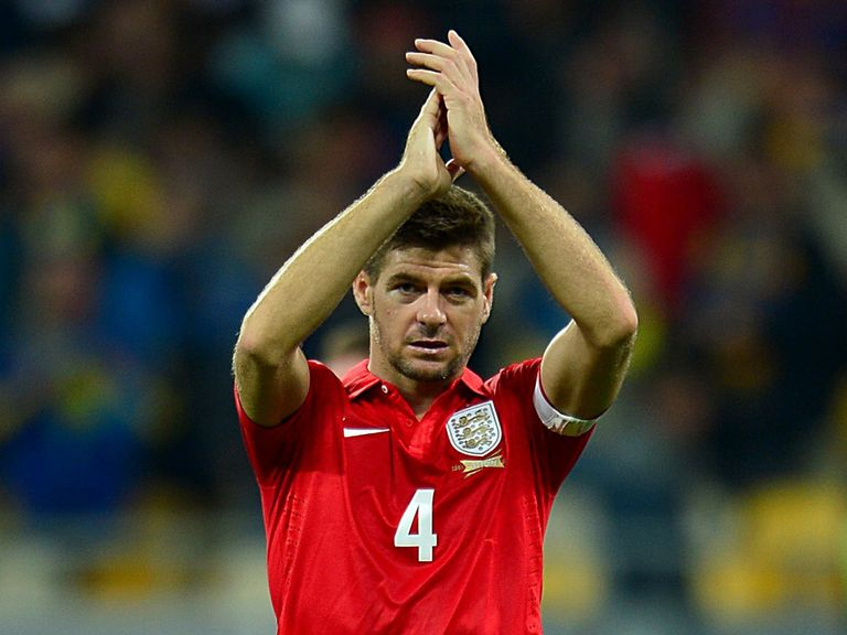 Gerrard: Has faith in England's record at Wembley