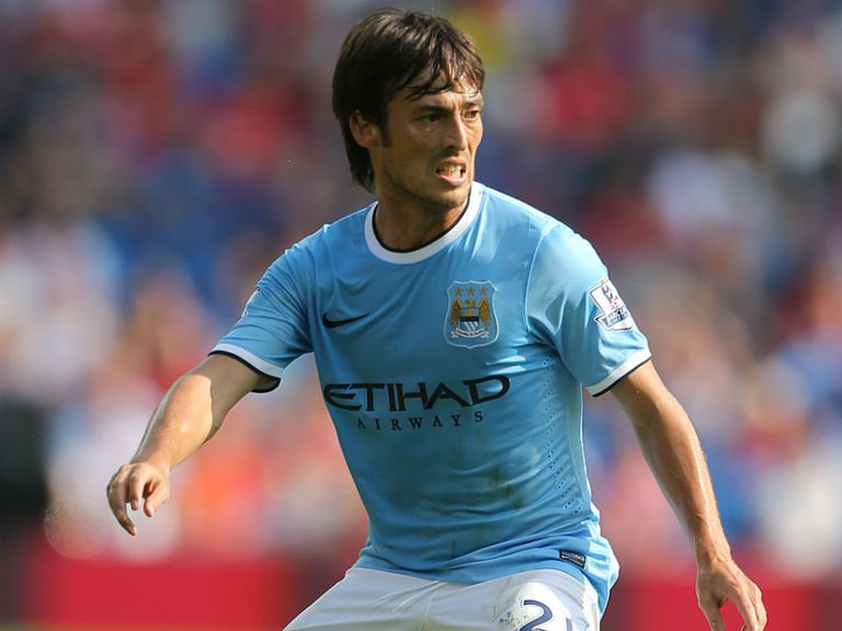 David Silva: Could return for Manchester derby