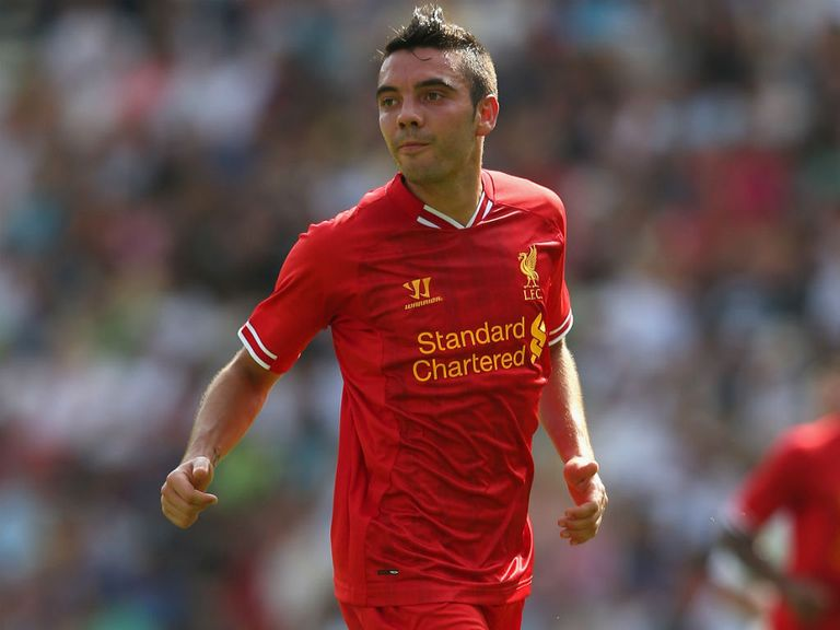 Iago Aspas: Not featuring regularly for Liverpool