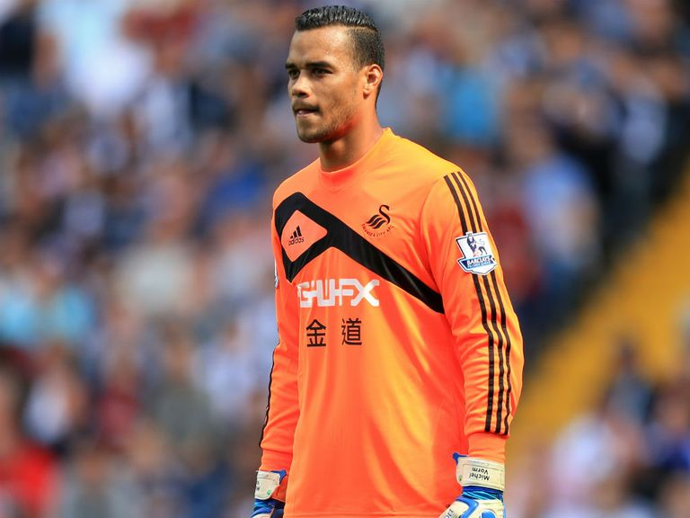 Michel Vorm: Swansea goalkeeper happy with his progress following knee surgery