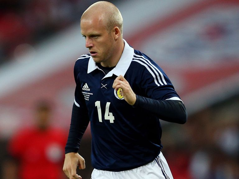 Steven Naismith: Keen to make his mark for Scotland