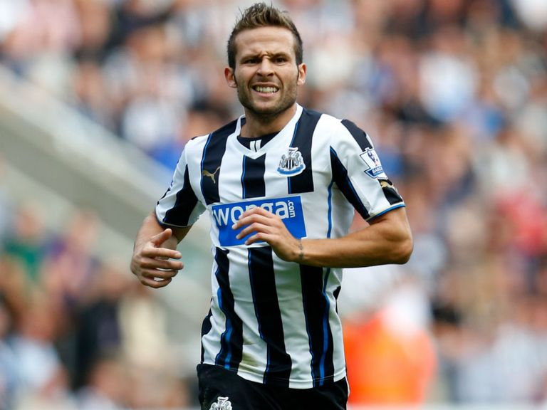 Yohan Cabaye: Pardew believes he's at the top of his game