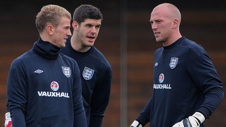 Joe Hart, Fraser Forster & John Ruddy: England's likely lads
