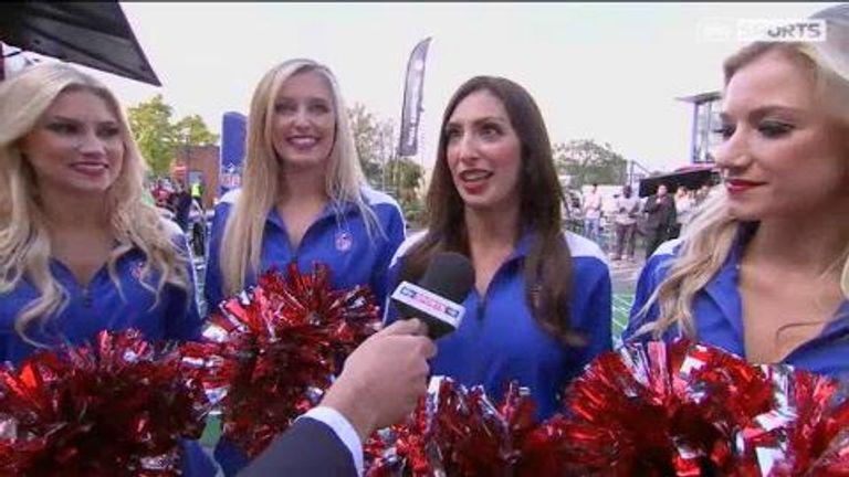 Nfl cheerleaders show all