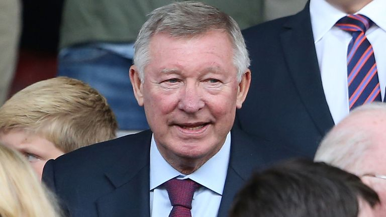 Sir Alex Ferguson: Happy to have rid himself of the stresses of football management