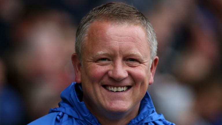 Chris Wilder: Heaping praise on striker