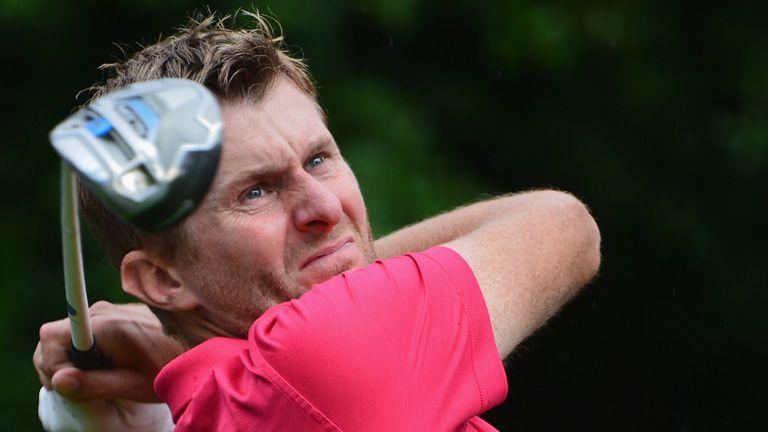 Steely focus: Lynn won his second European Tour title in Portugal