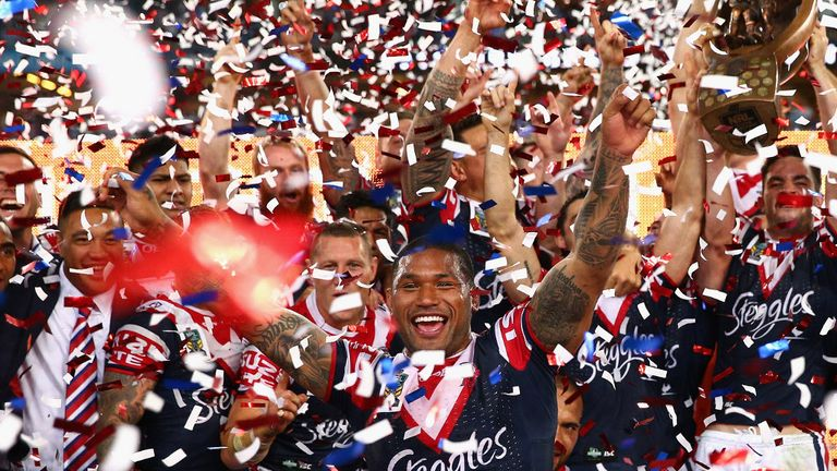 Sydney Roosters won this year's NRL
