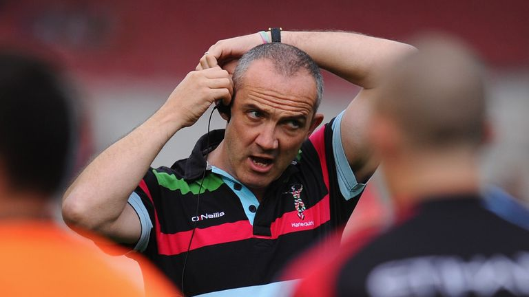 Conor O'Shea: Delighted to sign extended Harlequins deal