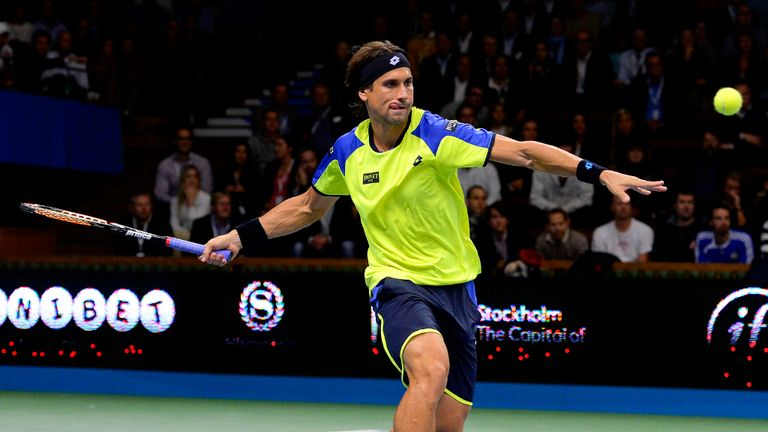 David Ferrer: Dropped the first set but sealed victory in style