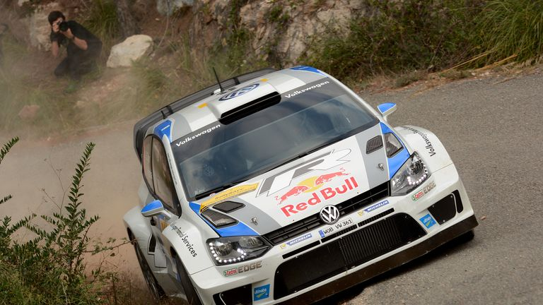 Sebastien Ogier: Has won eight of this season's 12 rounds