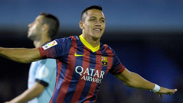 Alexis Sanchez enjoys Barcelona's victory