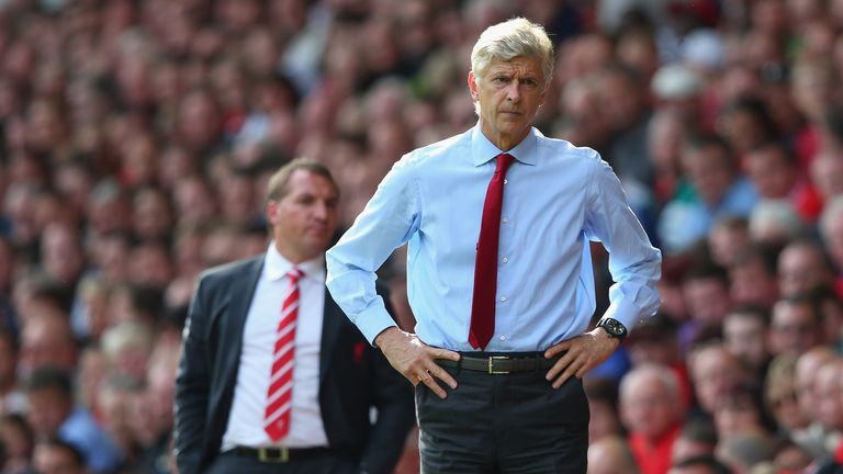 Arsene Wenger: His side were beaten 5-1 by Liverpool in the league recently