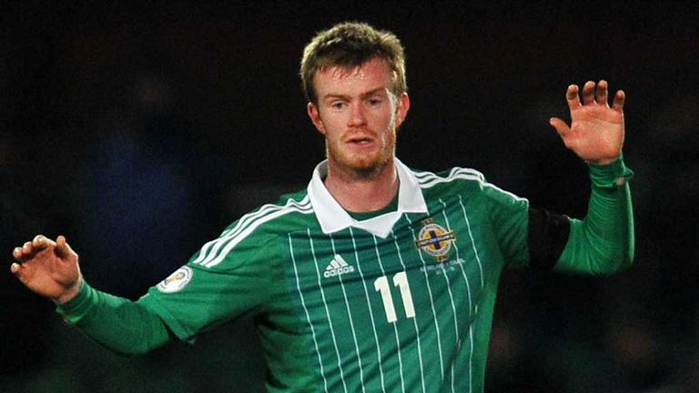 Chris Brunt: Played well in Baku despite carrying a minor knock