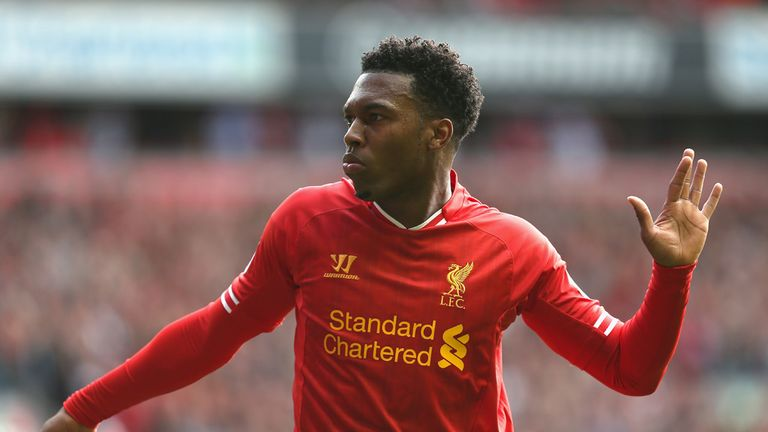 Daniel Sturridge: Liverpool striker happy in his favoured position