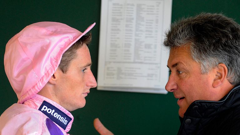 Daryl Jacob and Paul Nicholls: No falling out