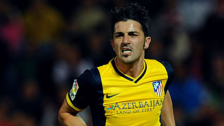 Villa: key to Atletico's title chances