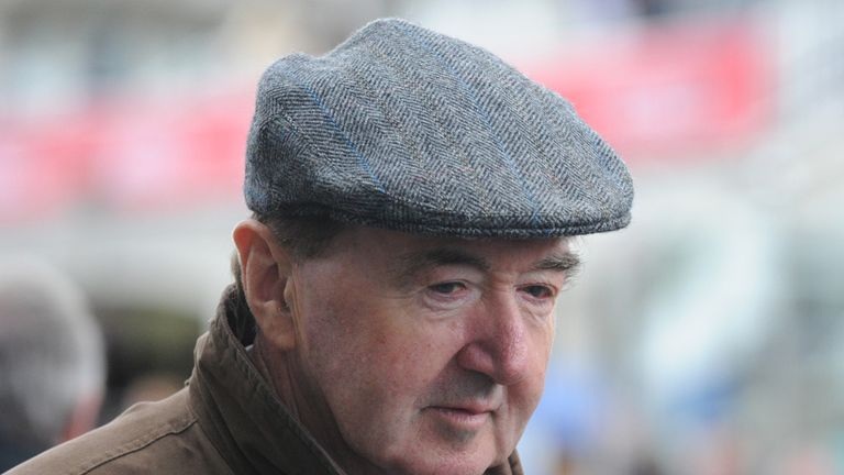 Dermot Weld: Trains the nap selection at Gowran