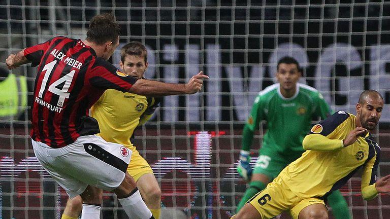 Alexander Meier: In action for Eintracht Frankfurt