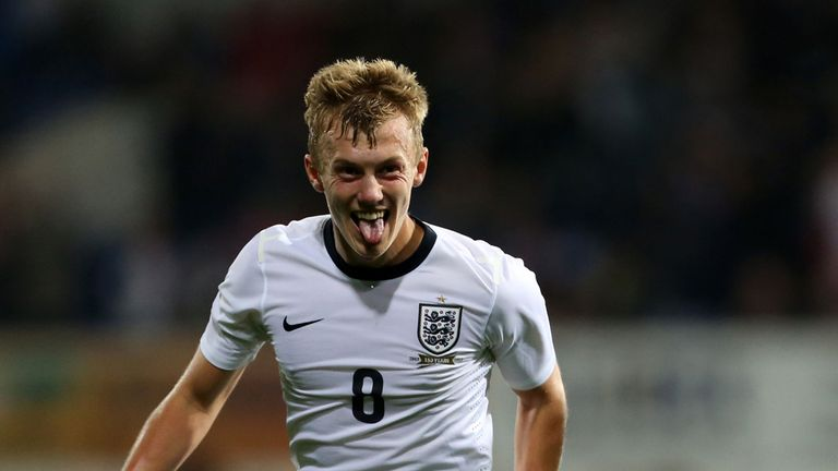 James Ward-Prowse: Southampton youngster has England ambition