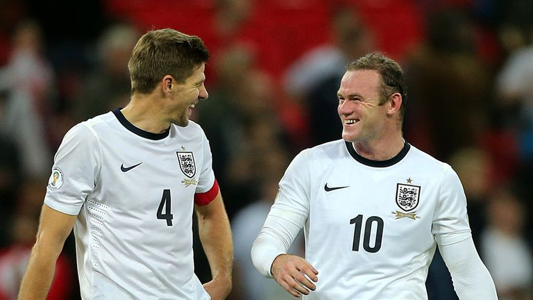 Steven Gerrard: Wayne Rooney key to our chances in Brazil