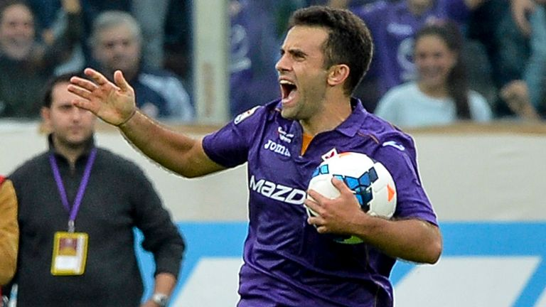 Giuseppe Rossi: In great form for Fiorentina
