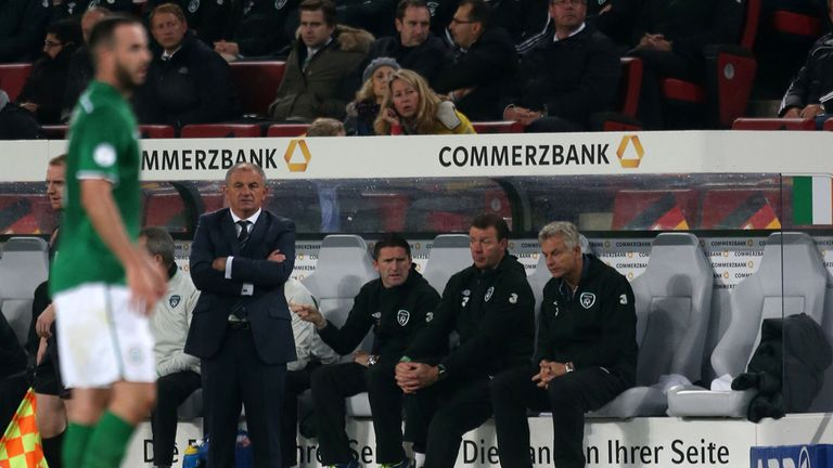 Noel King: Oversaw a 3-0 defeat to Germany in his first game as caretaker boss